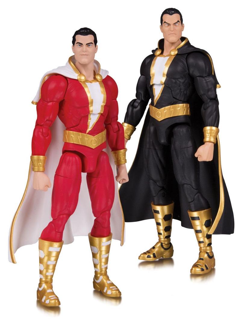 DC Essentials Action Figure 2-Pack Shazam! & Black Adam 18 cm