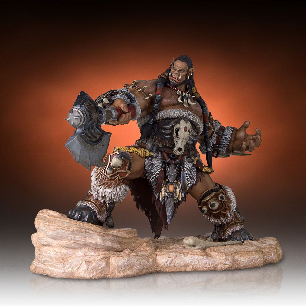 Warcraft The Beginning Statue Durotan 32 cm
