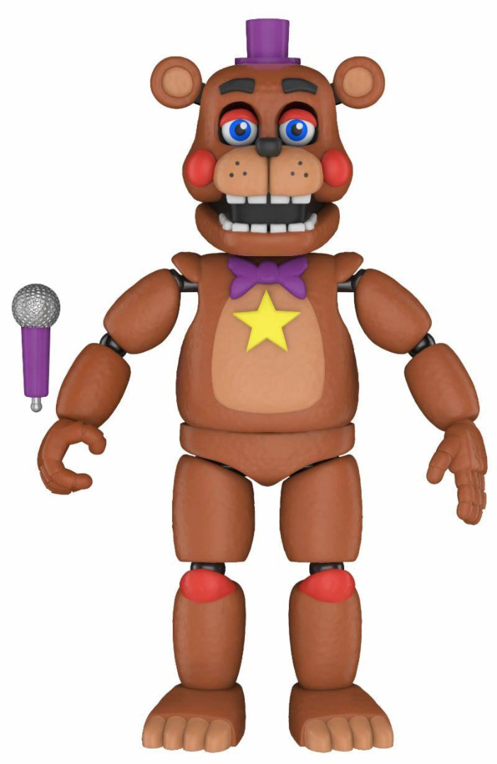 Five Nights at Freddy's Pizza Simulator Action Figure Rockstar Freddy 13 cm