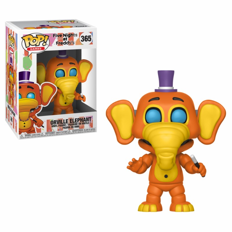 Pop! Games: FNAF - Pizza Sim - Orville Elephant Vinyl Figure 10 cm