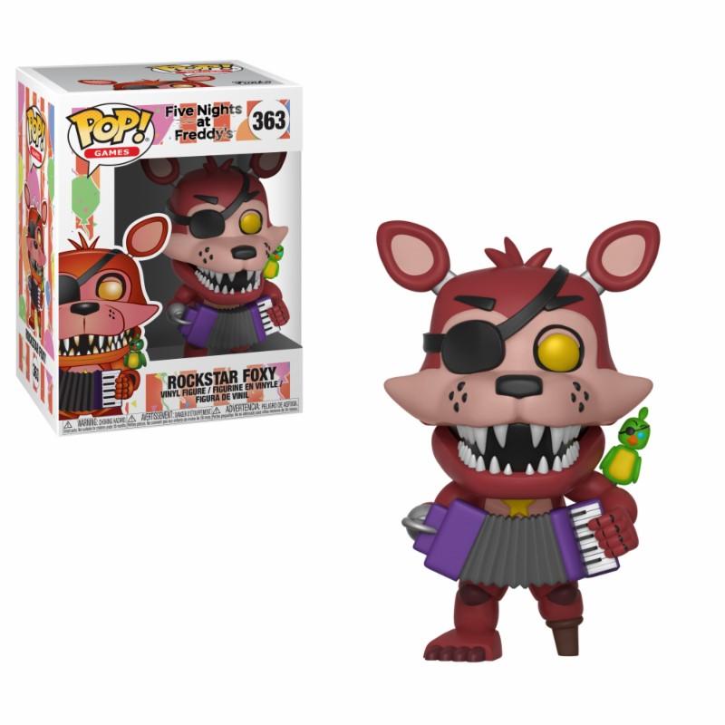 Pop! Games: FNAF - Pizza Sim - Rockstar Foxy Vinyl Figure 10 cm