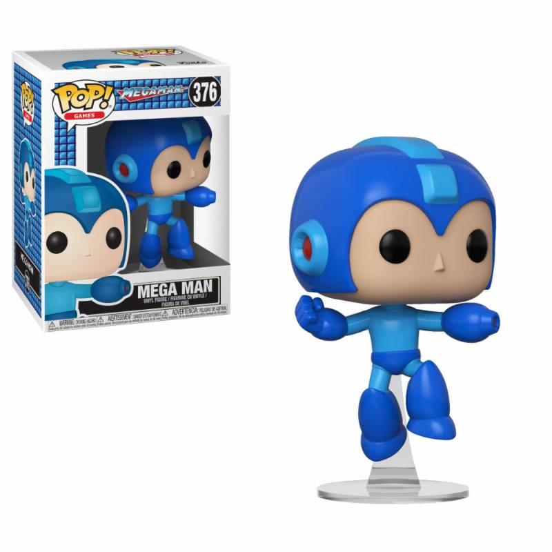 Pop! Games: Mega Man - Mega Man Jumping Vinyl Figure 10 cm