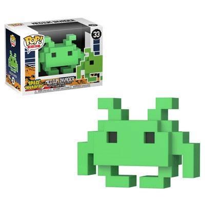 Pop! Games: Space Invaders - 8 Bit Medium Invader Vinyl Figure 10 cm