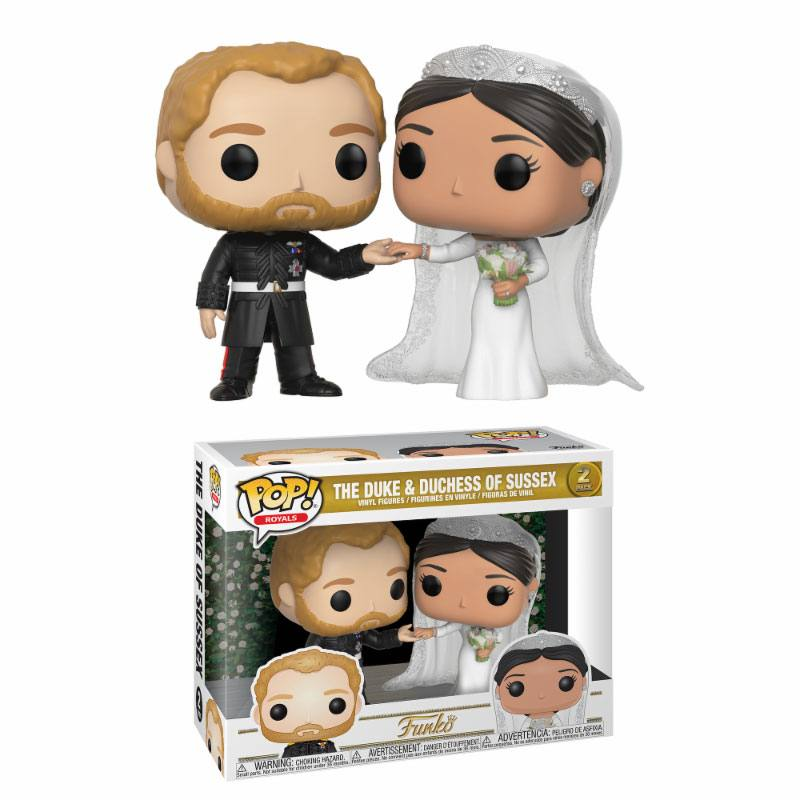 Pop! Celebs: Royal Family - The Duke and Duchess of Sussex 2-Pack
