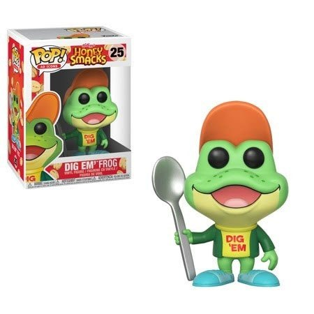 Honey Smacks POP! Ad Icons Vinyl Figure Dig'em Frog 10 cm