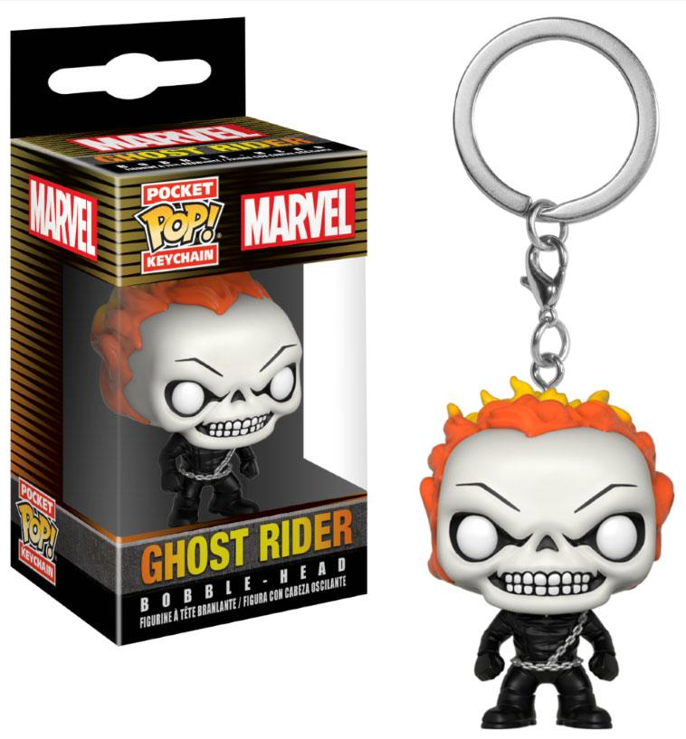 Marvel Comics Pocket POP! Vinyl Keychain Ghost Rider 4 cm