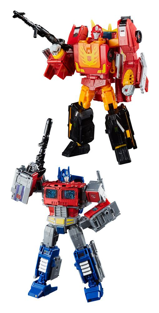Transformers Generations Power of the Primes Action Figures Leader Class