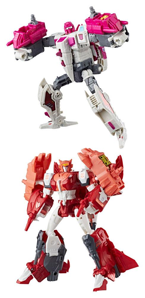 Transformers Generations Power of the Primes Action Figures Voyager Class
