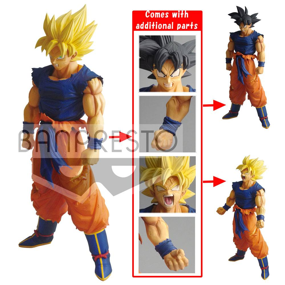Dragonball Super Legend Battle Figure Super Saiyan Son Goku 25 cm