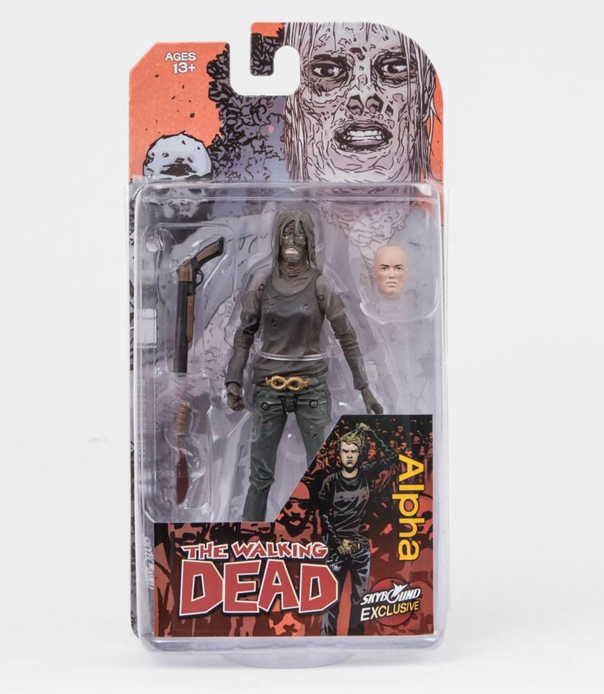 The Walking Dead Action Figure Alpha (Color) 15 cm