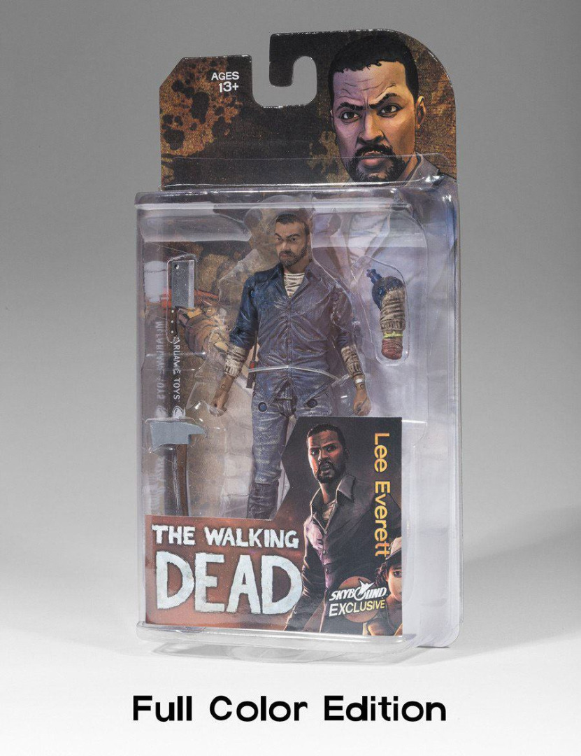 The Walking Dead Action Figure Lee Everett (Color) 15 cm