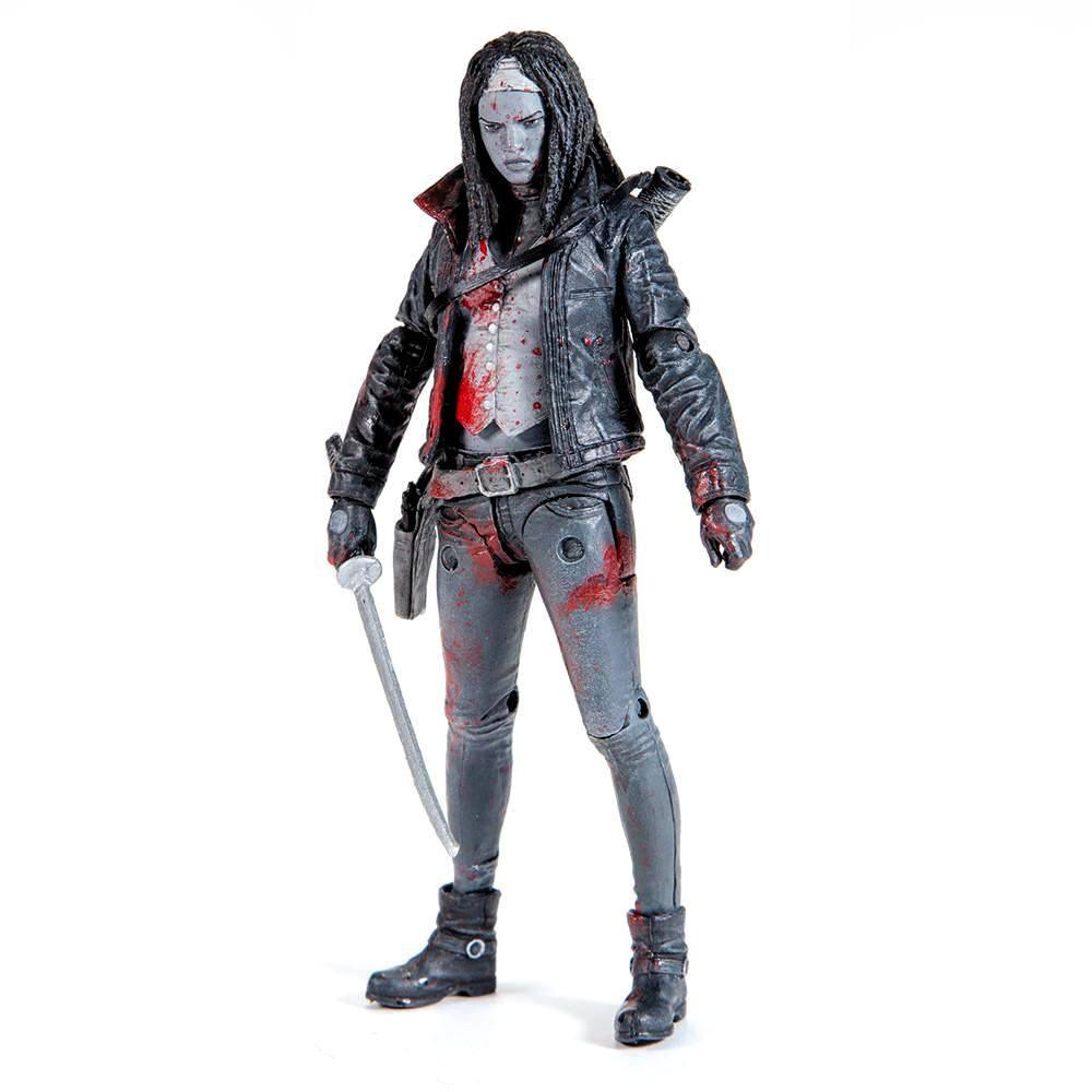 The Walking Dead Action Figure Michonne (Bloody B&W) 15 cm