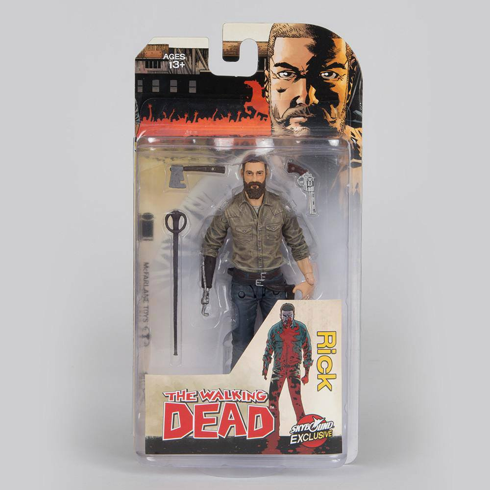 The Walking Dead Action Figure Rick (Color) 15 cm