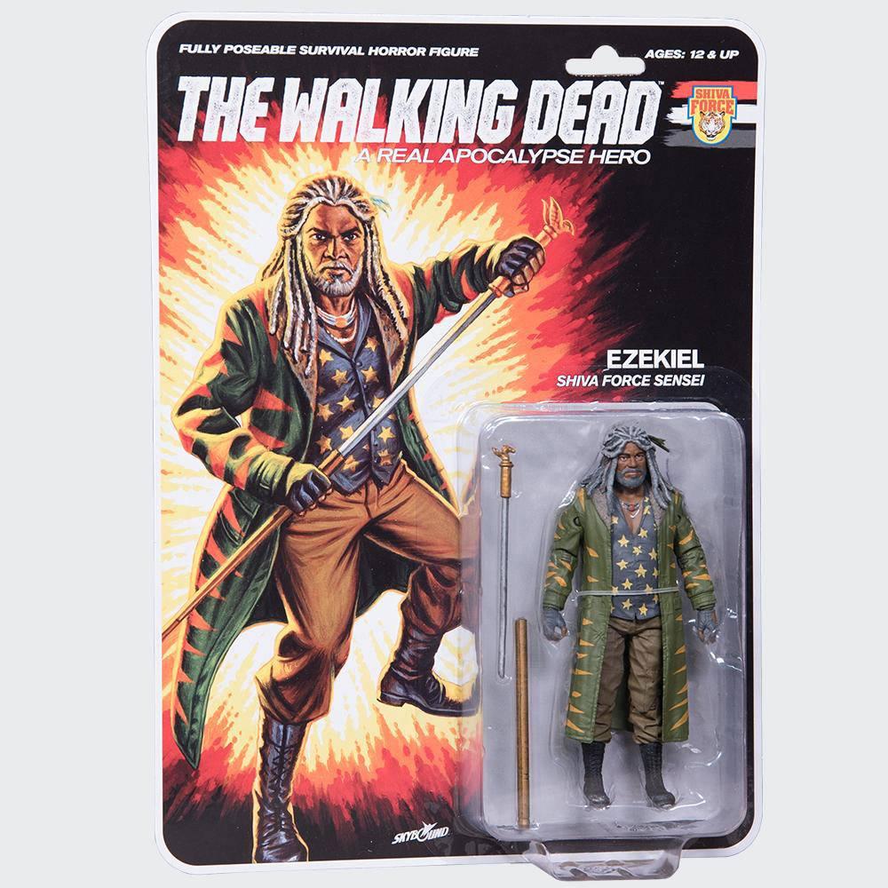 The Walking Dead Action Figure Shiva Force Sensei Ezekiel (Color) 13 cm