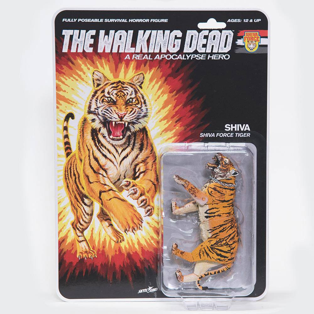 The Walking Dead Action Figure Shiva Force Tiger Shiva (Bloody) 13 cm