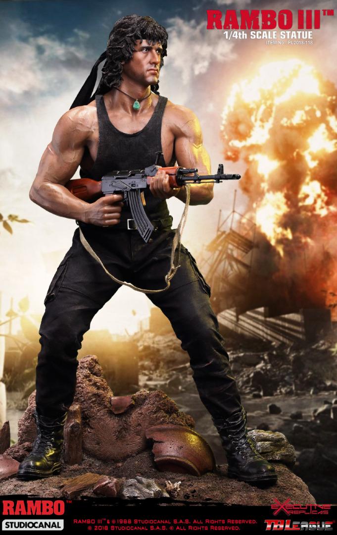 Rambo 3: Rambo 1:4 Scale Premium Statue 46 cm