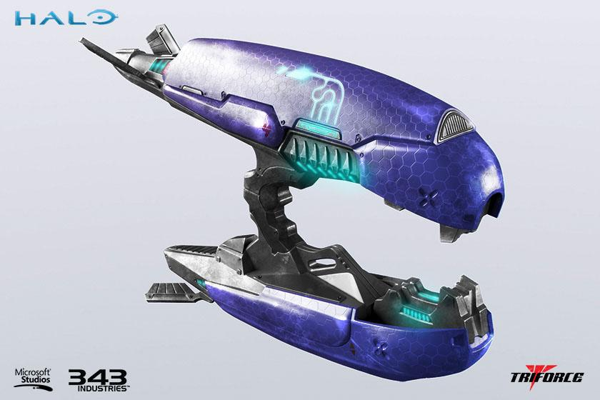 Halo 2 Replica 1/1 Plasma Rifle Anniversary Edition 62 cm
