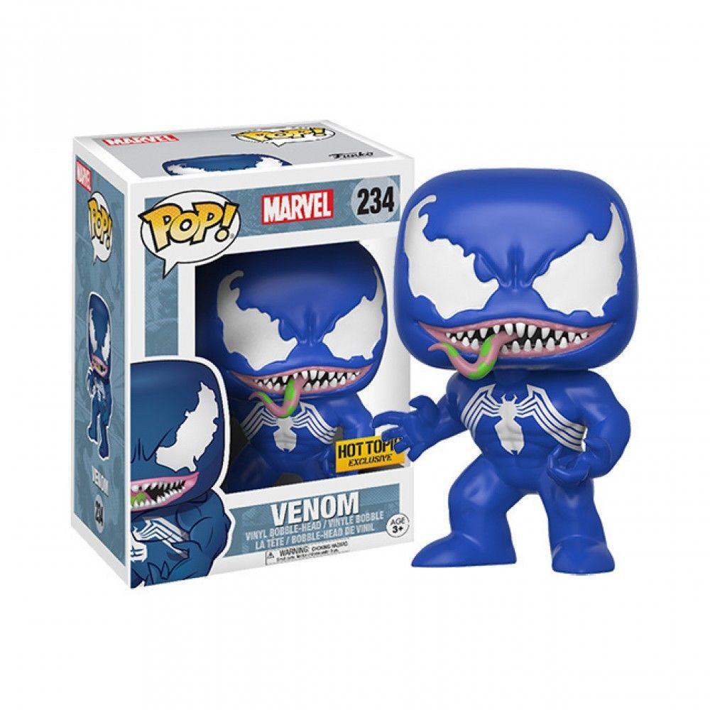 Pop! Marvel Venom Blue Exclusive Edition (caixa exterior com dano) 10 cm