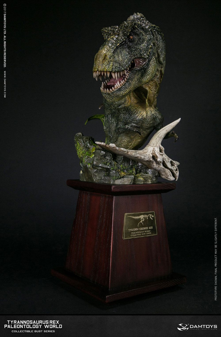 Paleontology World Museum Collection Series Bust Tyrannosaurus Rex 40 cm