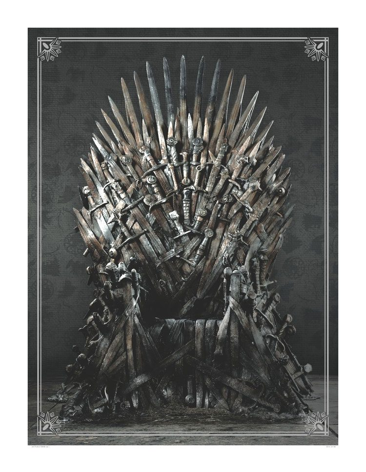 Game of Thrones Puzzle Iron Throne 1000 Peças