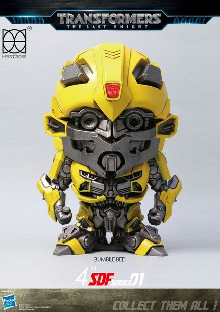 Transformers The Last Knight Super Deformed Vinyl Figure Bumblebee 10 cm