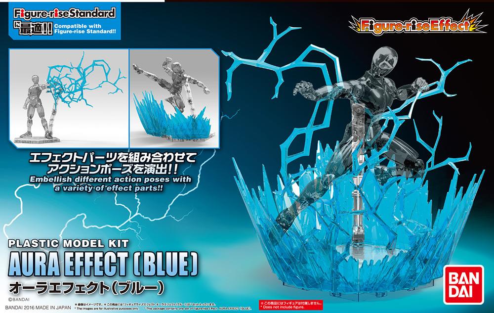 Figure Rise Effect Aura Blu