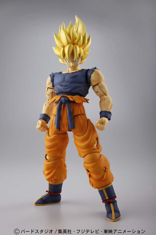 Master Grade Figure Rise Super Saiyan-Jin Son Goku