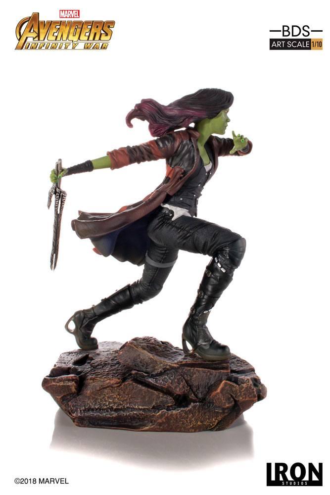 Avengers Infinity War BDS Art Scale Statue 1/10 Gamora 18 cm