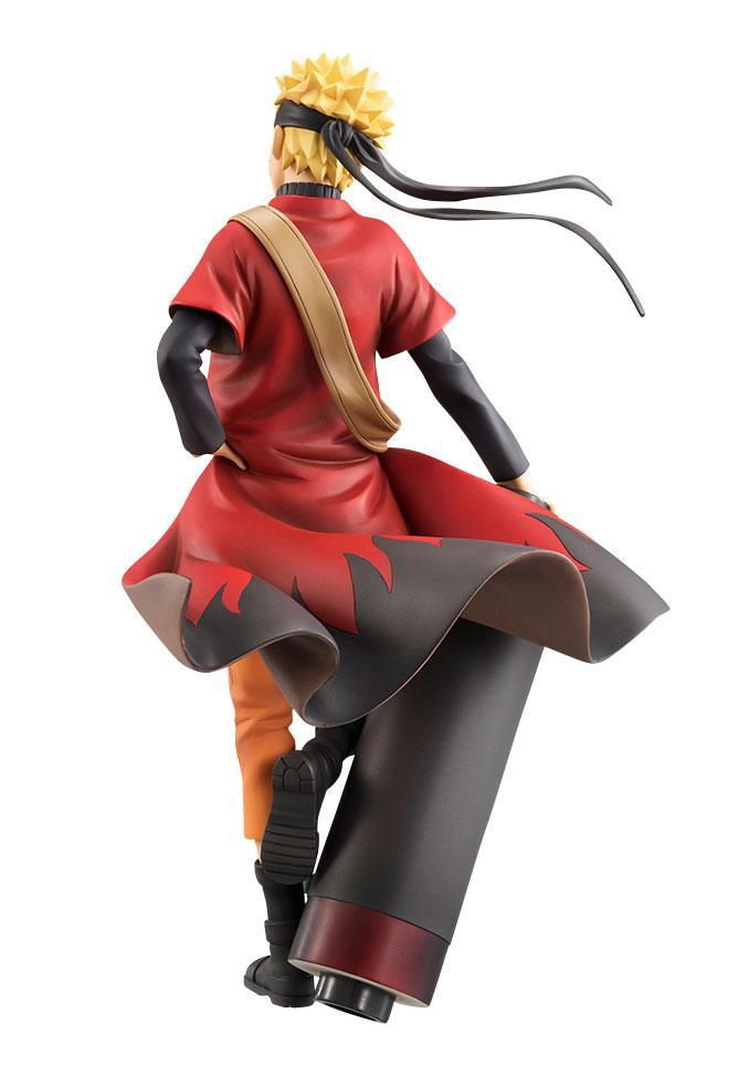 Naruto Shippuden G.E.M. Series Statue 1/8 Naruto Uzumaki Sennin Mode 20 cm
