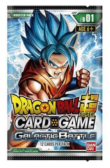 Dragonball Super Card Game Season 1 Booster Galactic Battle