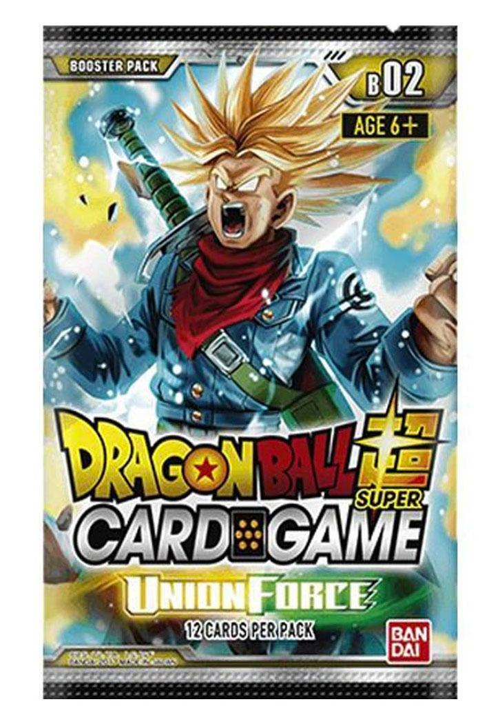 Dragonball Super Card Game Season 2 Booster Union Force