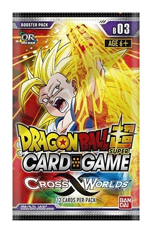 Dragonball Super Card Game Season 3 Booster Cross Worlds