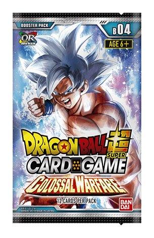 Dragonball Super Card Game Season 4 Booster Colossal Warfare