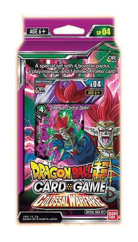 Dragonball Super Card Game Season 4 Special Pack Colossal Warfare