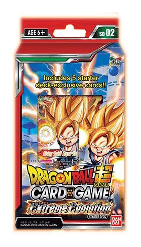 Dragonball Super Card Game Season 2 Starter Deck The Extreme Evolution