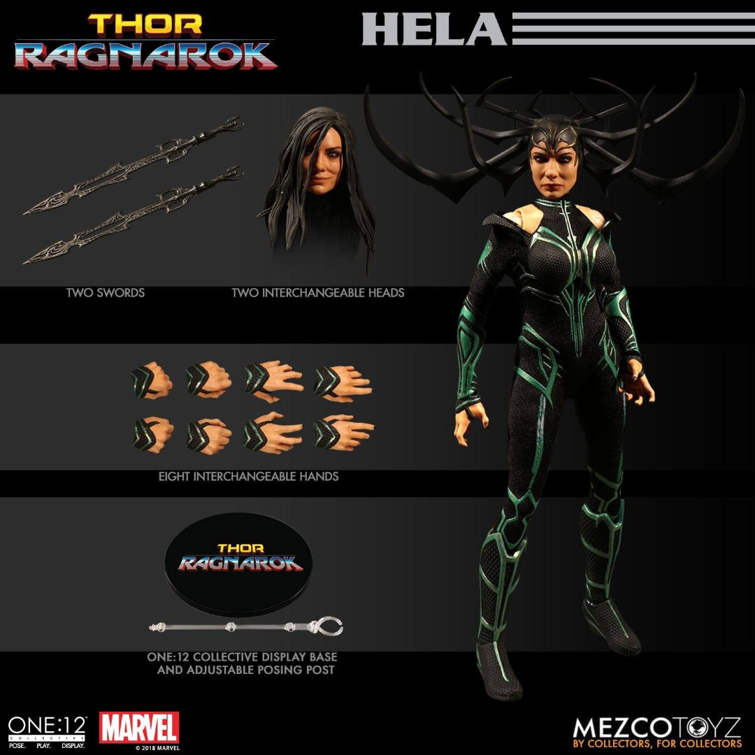 Thor Ragnarok Action Figure 1/12 Hela 15 cm