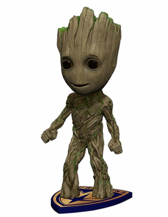 Guardians of the Galaxy 2: Groot Head Knocker 19 cm