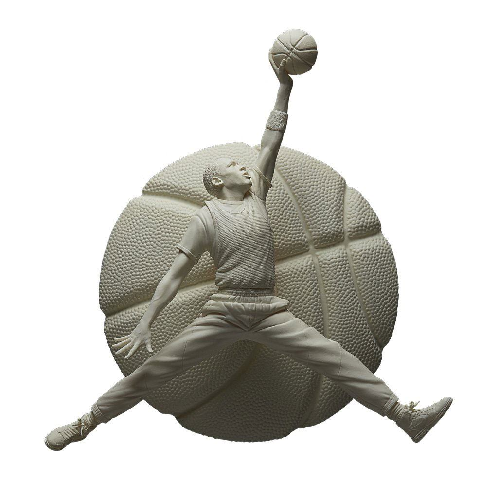 NBA Sculpture Collection Statue 1/6 Michael Jordan Gypsum Edition 52 cm