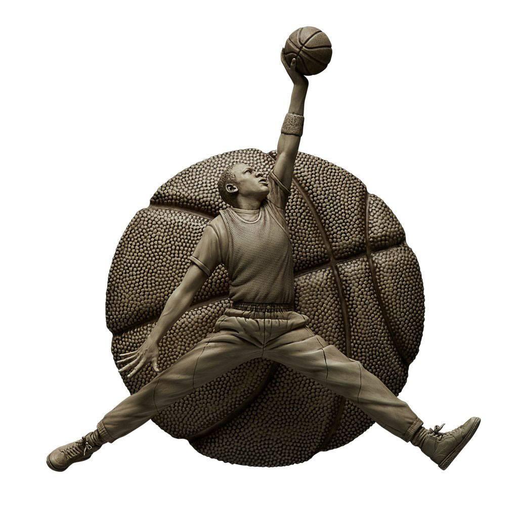 NBA Sculpture Collection Statue 1/6 Michael Jordan Ivory Edition 52 cm