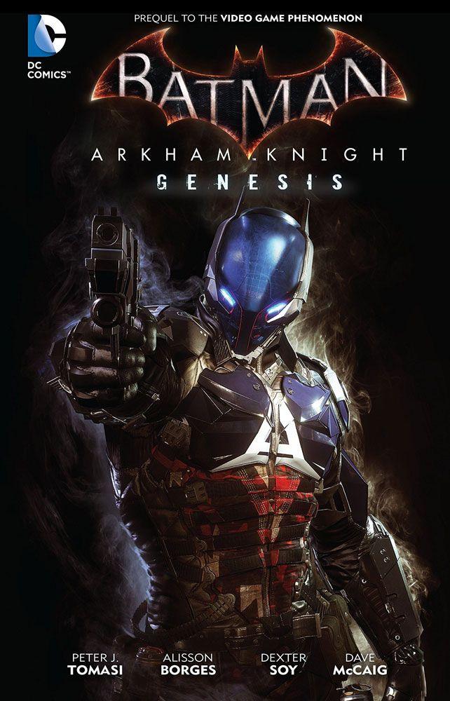 DC Comics Comic Book Batman Arkham Knight Genesis by Peter Tomasi