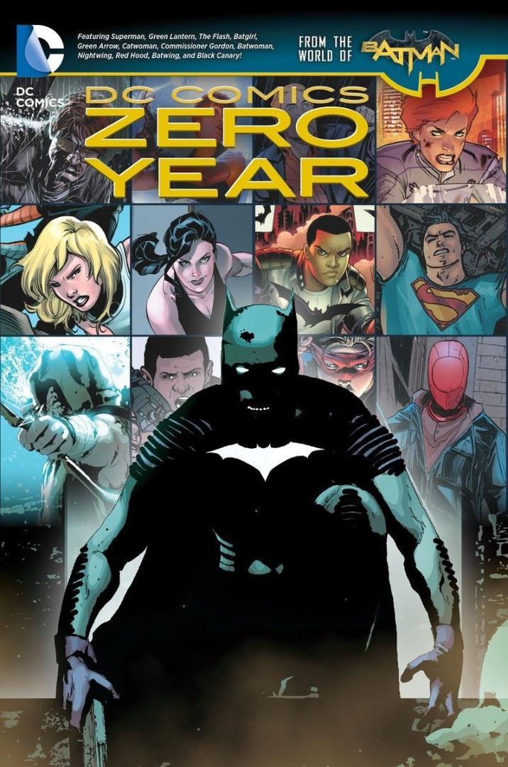 DC Comics Comic Book Batman Zero Year (The New 52) by Scott Snyder