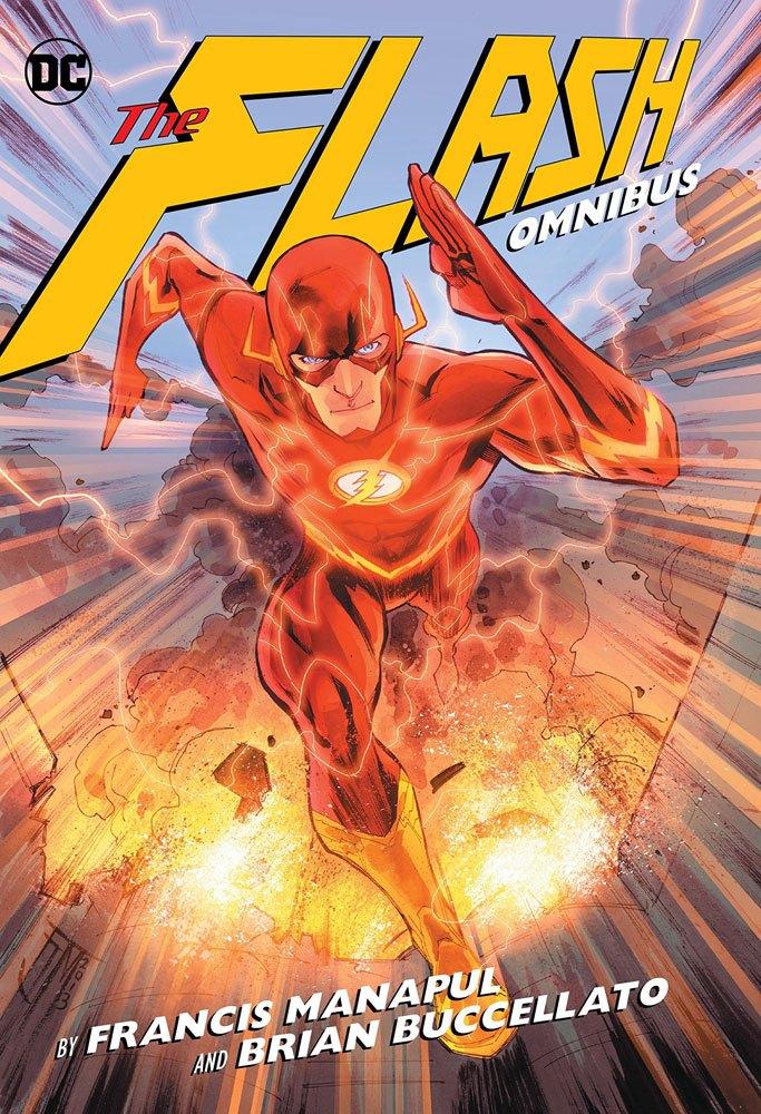DC Comics Comic Book Flash by Manapul & Buccellato Omnibus