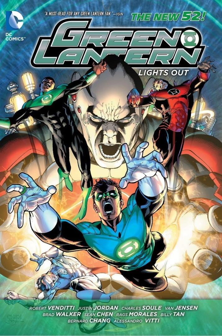 DC Comics Comic Book Green Lantern Lights Out (The New 52) Robert Venditti
