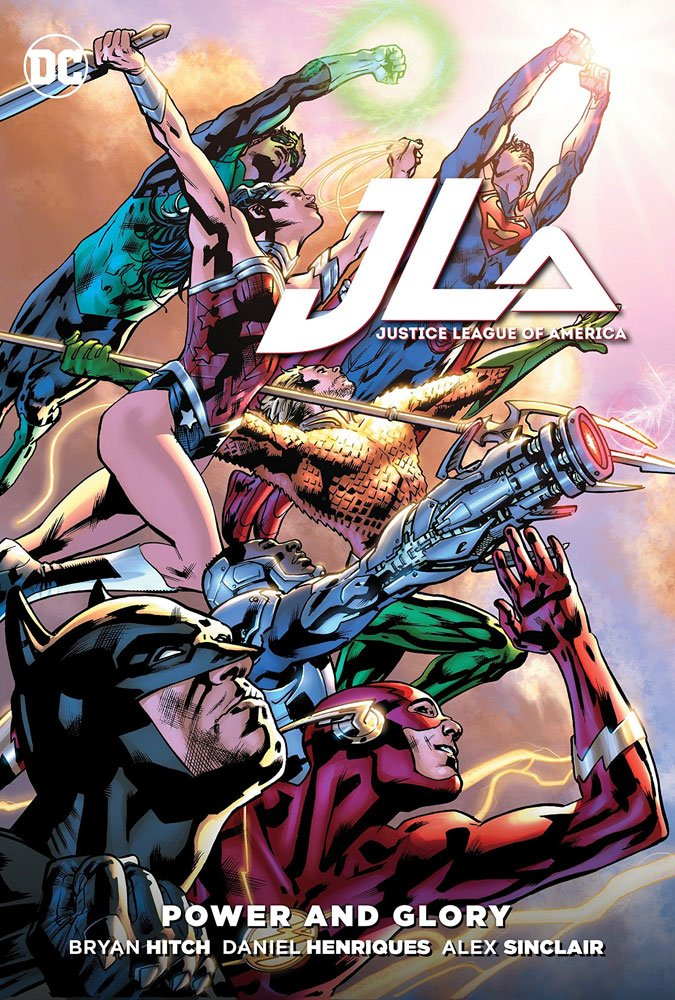 DC Comics Comic Book Justice League Power & Glory by Brian Hitch
