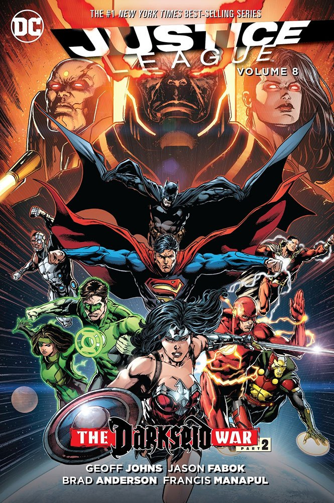DC Comics Comic Book Justice League The Darkseid War Part 2 by Geoff Johns