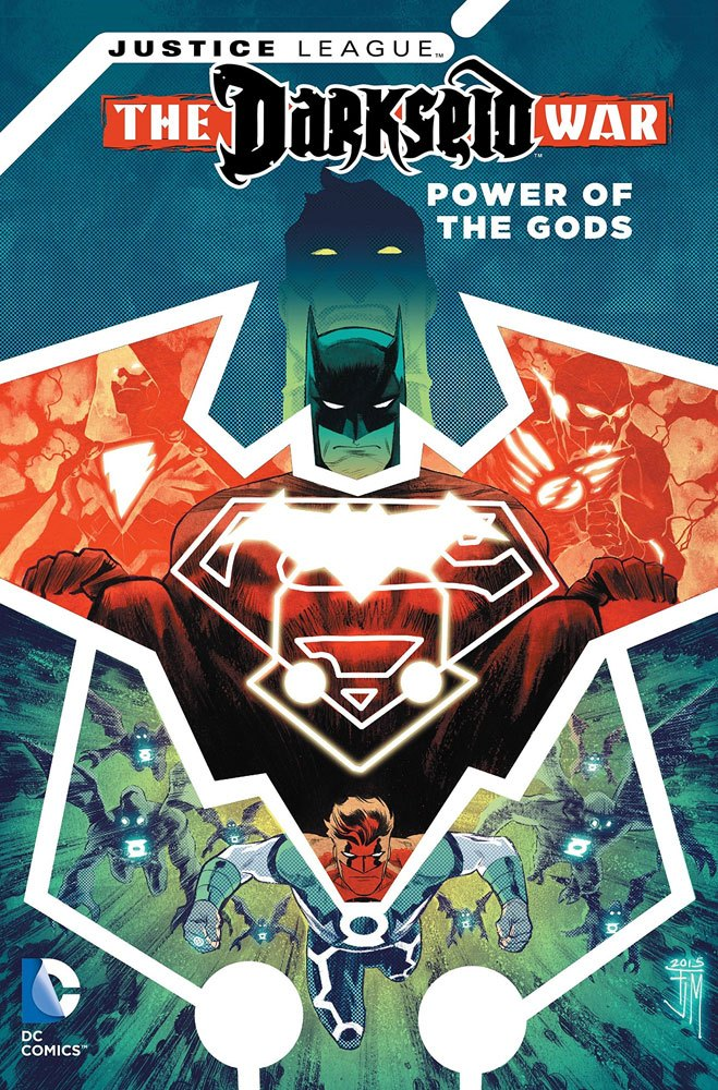 DC Comics Comic Book Justice League The Darkseid War Power Of The Gods