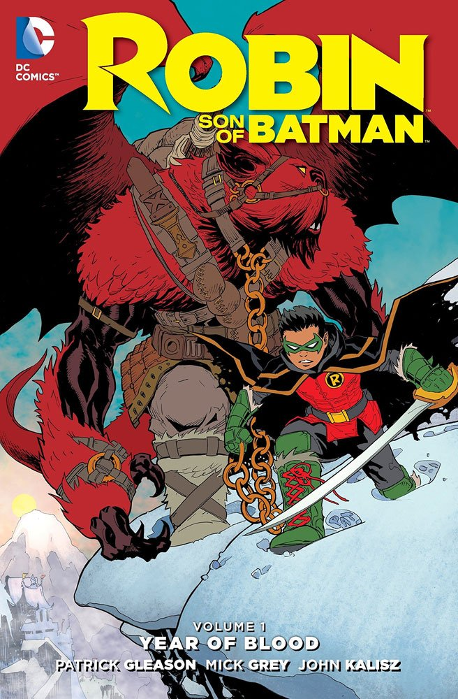 DC Comics Comic Book Robin Son Of Batman Vol. 1 Year Of Blood