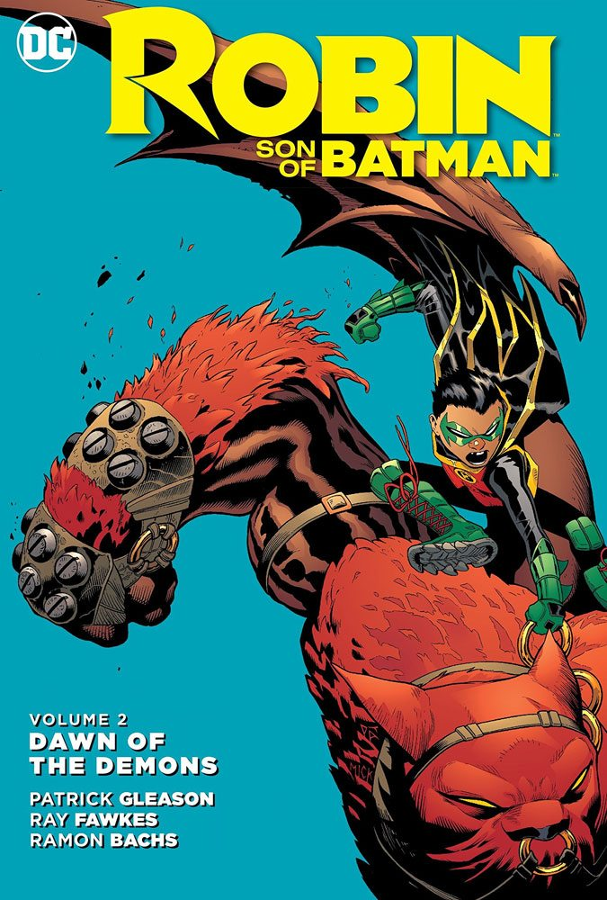 DC Comics Comic Book Robin Son Of Batman Vol. 2 Dawn Od The Demons