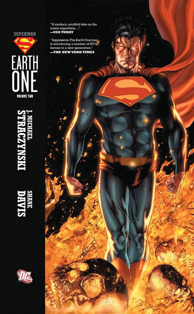 DC Comics Comic Book Superman Earth One Vol. 02 by J. Michael Straczynski