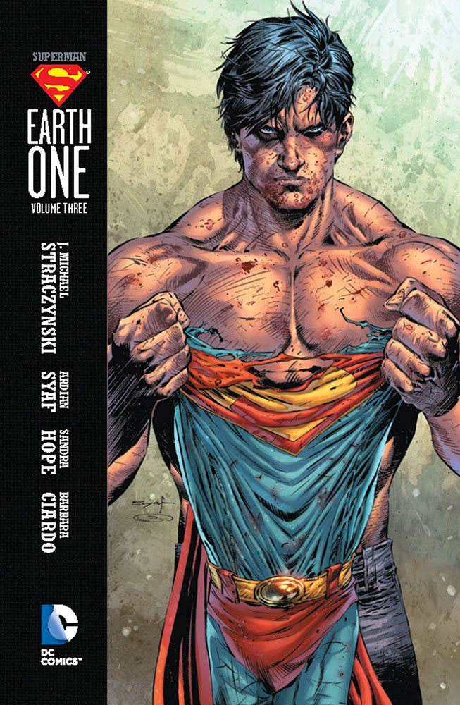 DC Comics Comic Book Superman Earth One Vol. 03 by J. Michael Straczynski